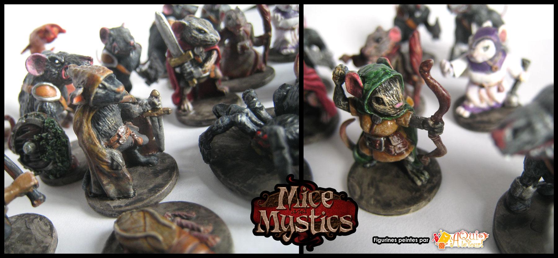 Figurines peintes de Mice and Mystics